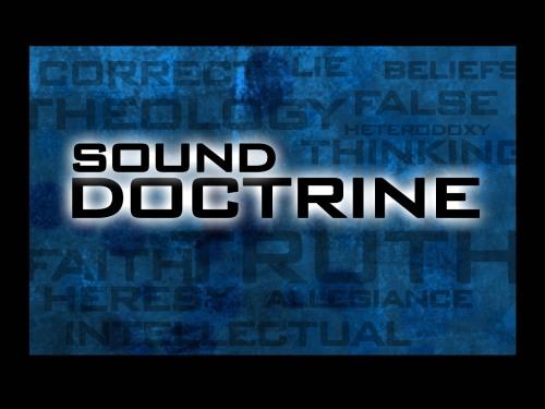 sound doctrine