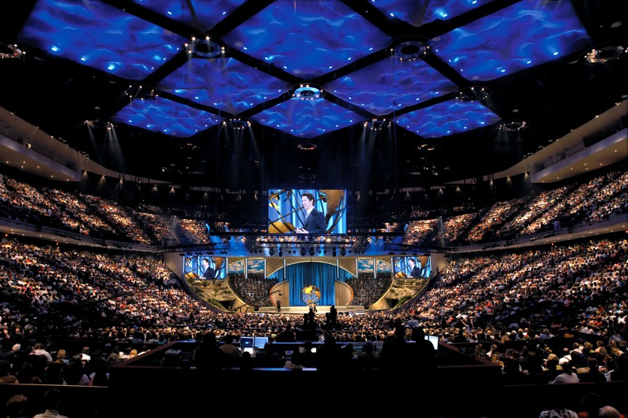 THE WORD on The Word of Faith  a GroupBlog Joel Osteen Church Capacity