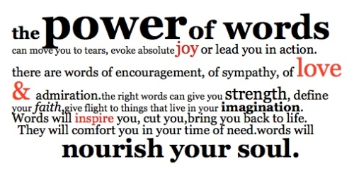 power of word good one
