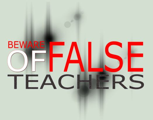 Image result for false teachers