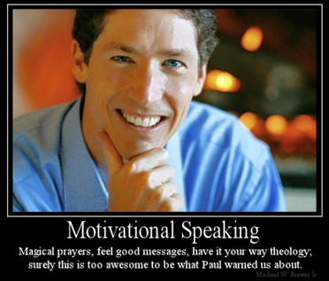 JOEL OSTEEN FEEL GOOD GOSPEL