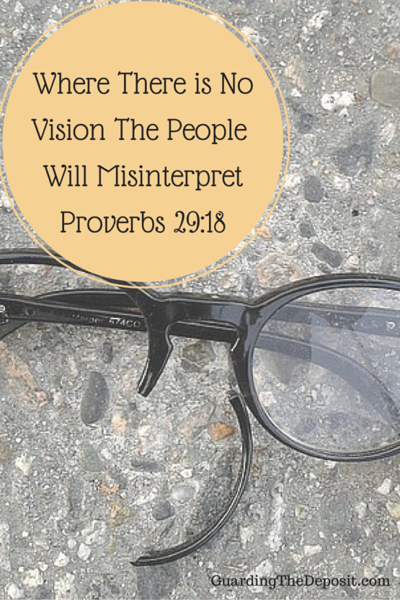 where there is no vision people perish Where there is no vision, the people perish this is one of my favorite scriptures in the bible for the small business owner but.