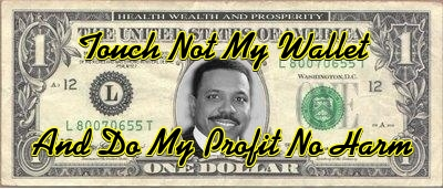creflo dollar touch not my walet