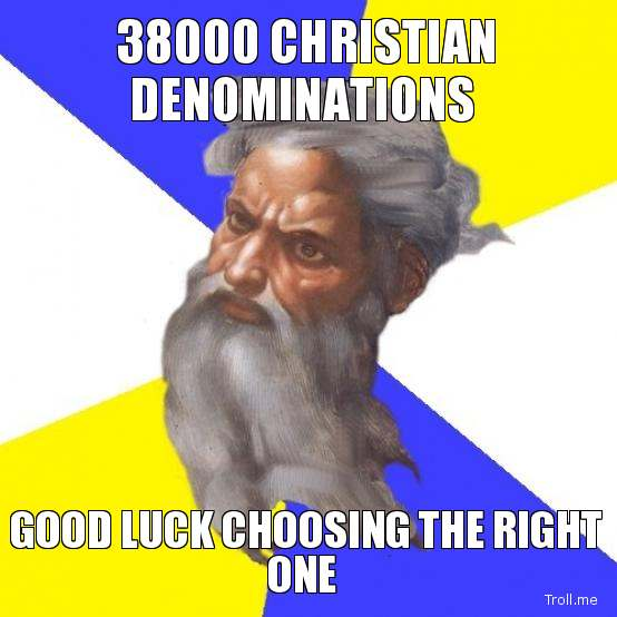 Christian Denominations Sects: ARE THERE REALLY 38,000 DIFFERENT DENOMINATIONS? By Damon